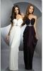 привлекательный - линия этаж - гольфы-плеча шифон анна кендрик оскар платье вечерние платья с цветами и кружева