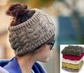 улица трикотаж волос лента повязка на голову банданы кепка crownless козырек зима тёплый волос лента женщина кепка жестяная банка