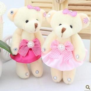 Wholesale 24pcs/lot Cartoon diamond small teddy be...