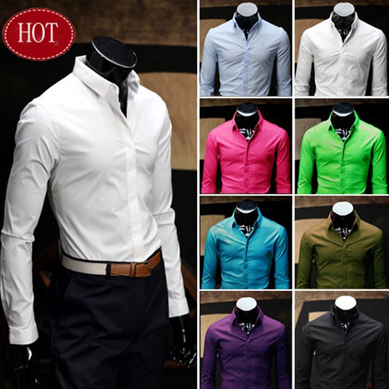 autumn korean style Colorfull long sleeve slim fit...