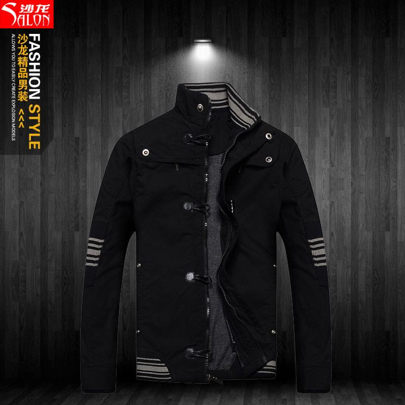 The new Korean version of casual men\'s jackets men...