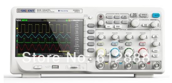Siglent 2 Channels SDS1302CFL Digital Oscilloscope...