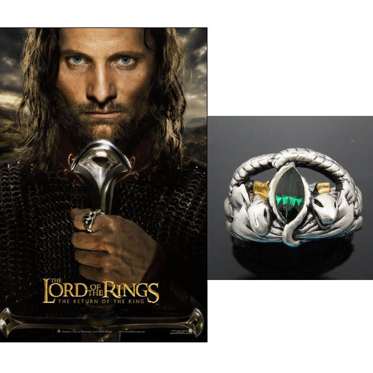 два подарка в властелин колец и принцесса вечерняя звезда и колье ювелирных изделий для невесты кольцо о для мужчин и женщин j461