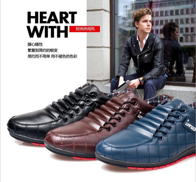 новый прямых продаж средний массаж genuien кожаная мужчины обувь мода мягкая коснитесь свободного покроя мужские спорт бесплатная доставка
