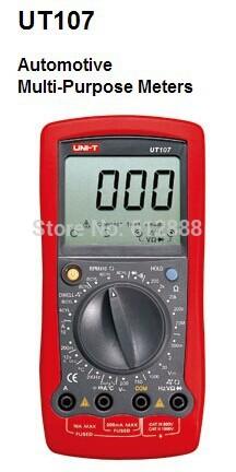 UNI-T UT107 UT-107 Automotive Tester Voltage Temp ...