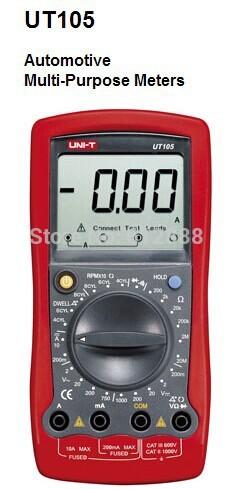 UNI-T UT105 Auto Range Digital Automotive Multimet...