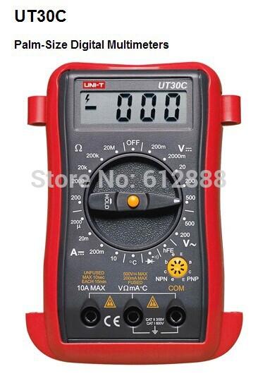 High Quality UNI-T Brand UT30C UT-30C Handheld Dig...