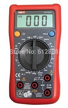 UT132D LCD small automotive digital multimeter