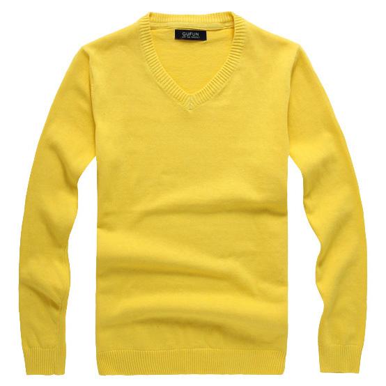 2014 spring men\'s V-neck sweater men sweater wool ...