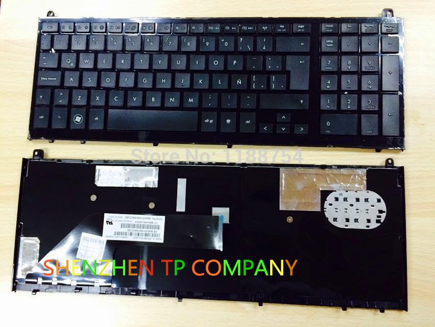 Brand New Spanish keyboard  ForHP Probook 4520 452...