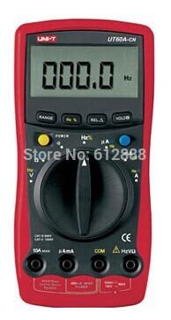 UNI-T UT60A-CN LCD Digital Multimeter AC DC Volt A...