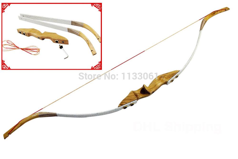 Details about  /Handmade Recurve Scythian-Style PVC  Bow /& Handmade Flemish-Twist Bowstring.