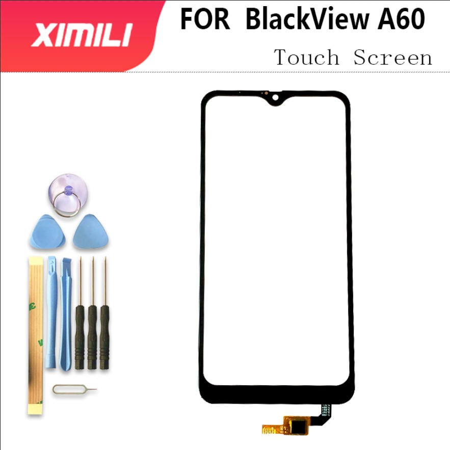 """6.1"""" Outer Glass For BlackView A60 Touch Screen Panel 100% Original Tested Digitizer Sensor Glass Panel Replacement+Tools 3M"""