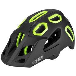 1PC kask rowerowy Mountain Bike Skateboard hełm ochronny sprzęt rowerowy dla kobiet mężczyzn (czarny)