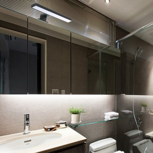 Image 2 - Oświetlenie naścienne LED szafka łazienkowa Make up światło lustrzane lampka nad lustro ścienne u nas państwo lampy IP44 neutralny biały 30cm 60cm