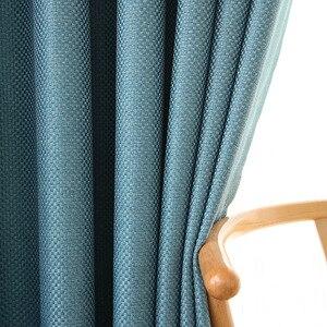 Современные затемненные занавески для гостиной, льняные занавески для спальни, Роскошные плотные занавески, занавески на заказ