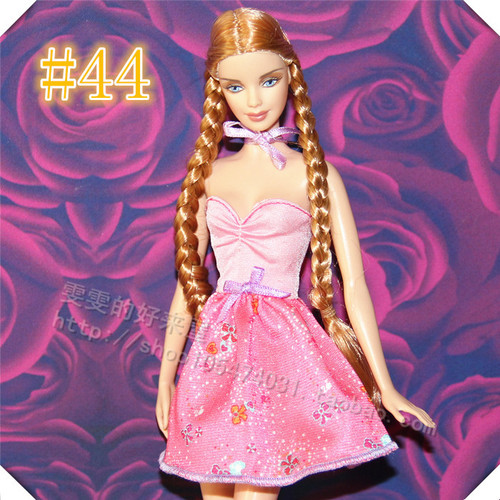 30cm Doll Dress Fashion Clothes handmade outfit For Barbie Doll Accessories Baby Toys Best Girl' Gift 5
