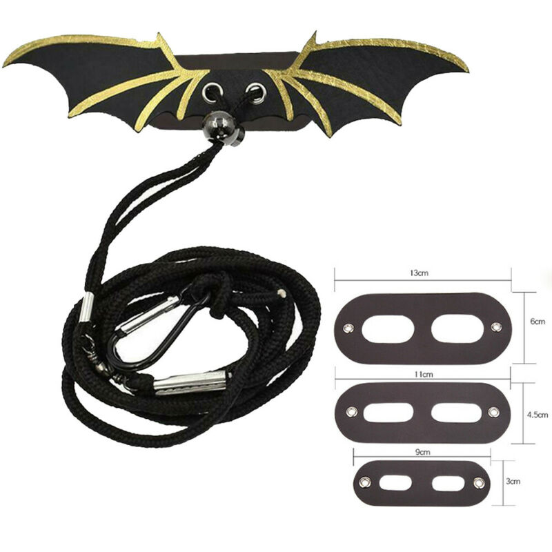 Creative Adjustable Lizard Bearded Dragon Reptile Critter Leashes Harness Wings Preventing  Pet Skin Friction
