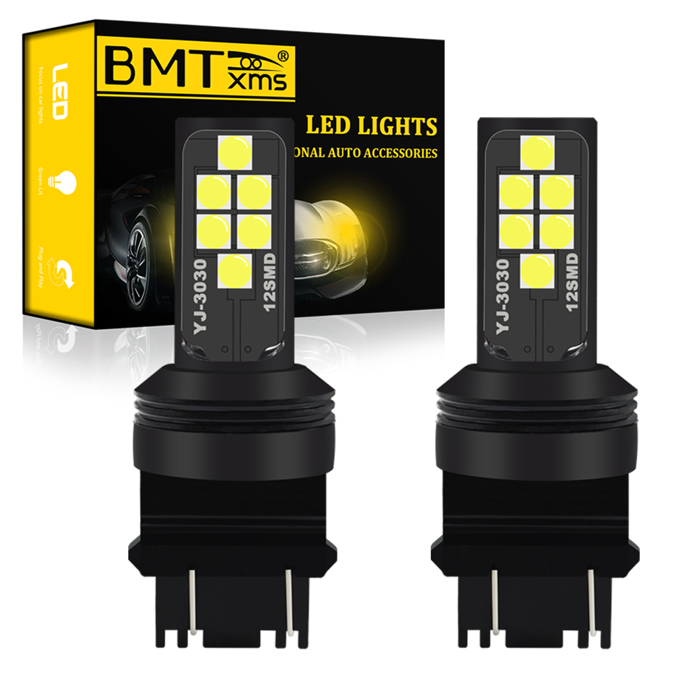 BMT <font><b>T25</b></font> P27/7W <font><b>LED</b></font> P27W 3156 3157 P27 7W P27/5W Car <font><b>LED</b></font> Light Turn Signal Lamp Tail DRL Light Auto <font><b>led</b></font> 12V Car White Amber Red image