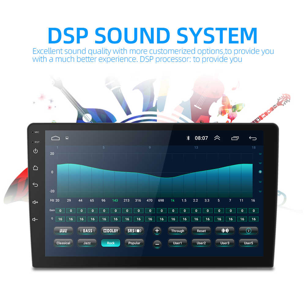 2din Android 8.1 WIFI GPS Navigation Đài Phát Thanh Xe Cho Kia K2 Rio 2012 2013 2015 2016 Xe DVD Máy Nghe Nhạc Video stereo Băng Ghi Âm