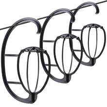 3 Pçs/lote Top Quality Peruca Stand Multi-Purpose Use Chapéu Peruca de Cabelo Cabeça Suporte Viagens Amigável Dobrável Flexível Titular Peruca de Plástico