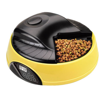 High Quality Auto programmable Dog Bowl 4 Trays Automatic Pet Feeder for Dog, Cat and Small Animals