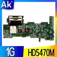 AKEMY K72DR материнская плата для ноутбука ASUS K72DR X72D X72DY A72D материнская плата 100% тест Ok HD5470M 1G