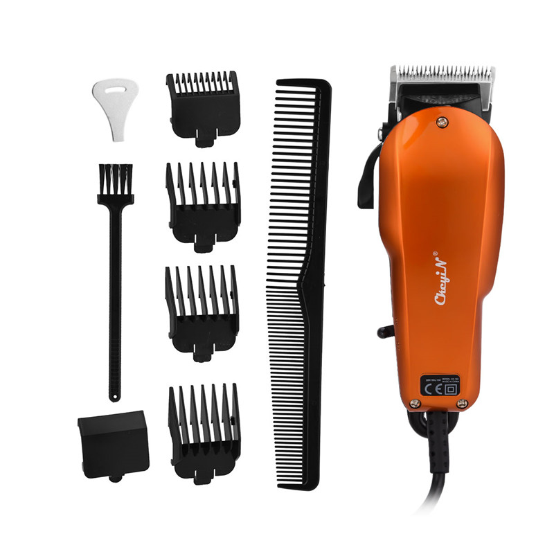 Powerful Hair Trimmer Professional Men Electric Hair Cutting Machine Salon Home Haircut Clipper For Beard And Mustache With Comb