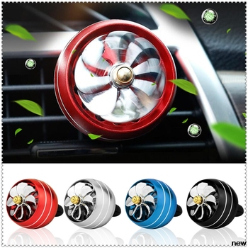 car Perfume Air Freshener Mini Fan Auto Air Vent Clip for Peugeot 206 307 406 407 207 208 308 508 2008 3008 4008 image