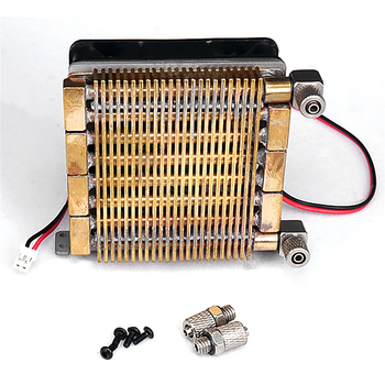 Radiator Cooler Cooling Heat Sink Part for 1/14 Hydraulic Model Hydraulic System Dumper Truck RC Excavator Loader Parts excavator accessories kwe5k 31 g24ya30 hydraulic parts proportional servo valve
