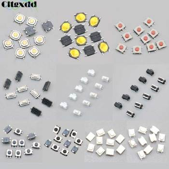 Cltgxdd 10PCS Car Remote Control Touch Switches Push Button Tact Switches for Hyundai, Nissan, Honda, VW, Toyota, Kia, Peugeot image