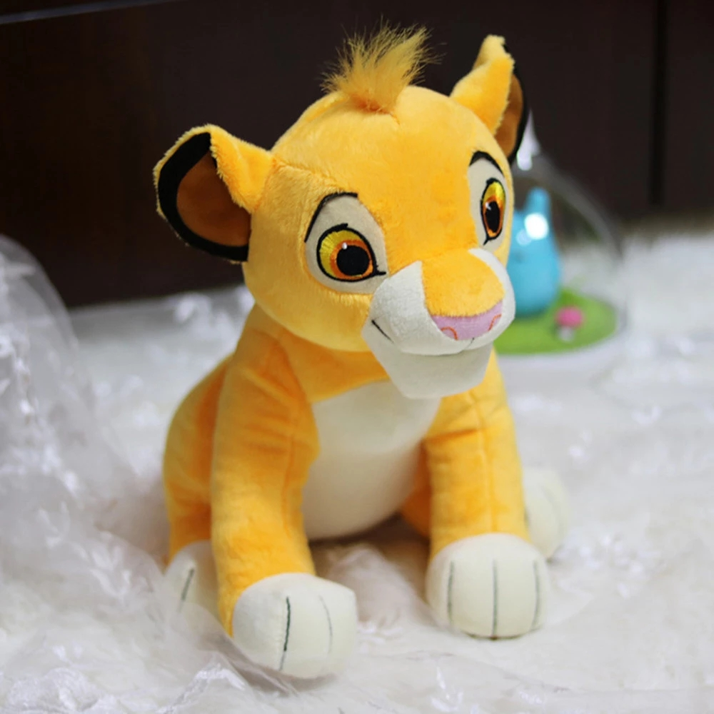 Lion King High Quality Cute Sit High 30cm Simba The Plush Toys Simba Soft Stuffed Animals Doll Educational Toys For Childre