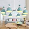 Японская подвесная Хрустальная Подвесная лампа для гостиной