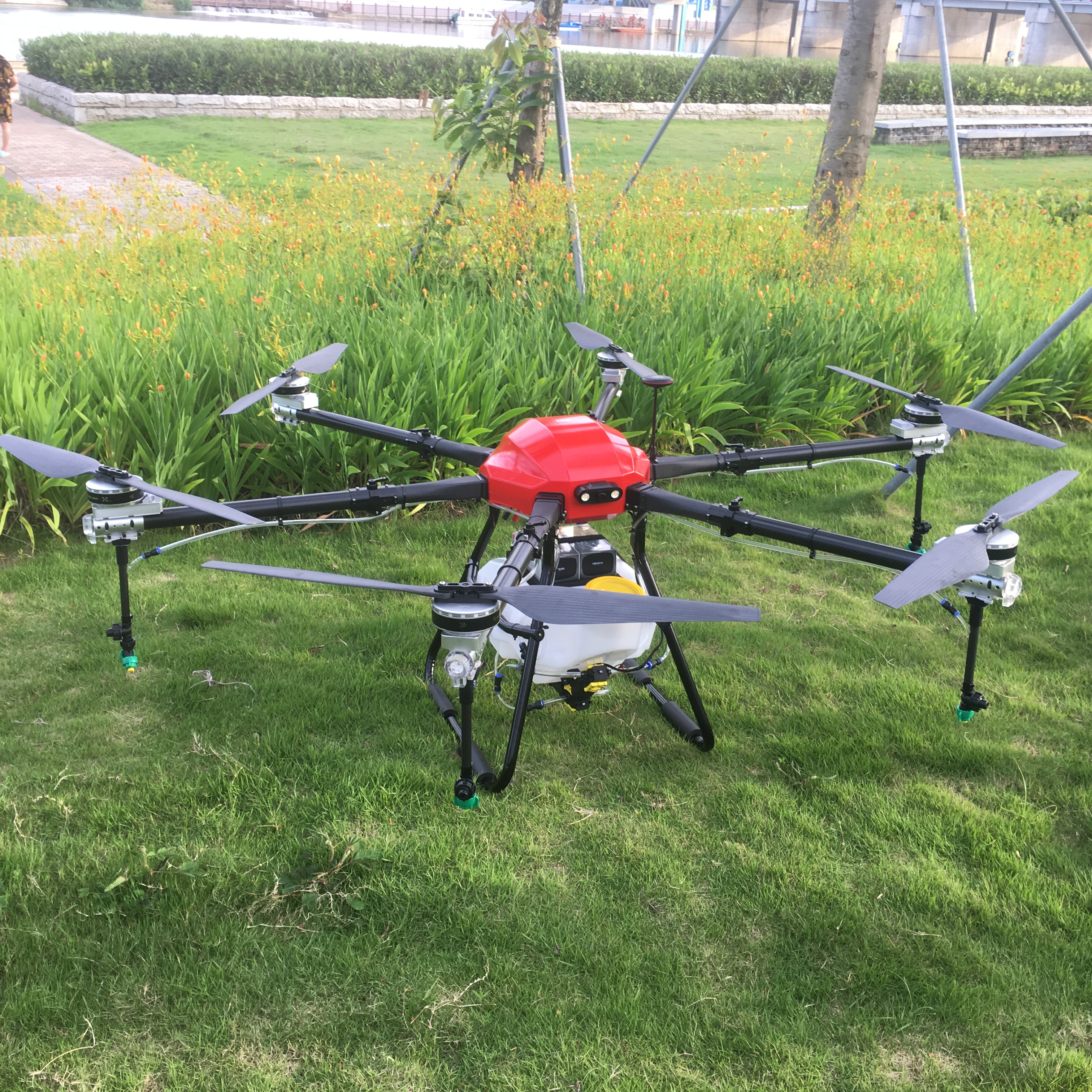 Aerops PS-625 Agricultural Plant Spray Protection Drone Frame For 1850mm Wheelbase UAV 20L  25L/KG Medicine Tank Six Axis