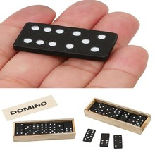 Toys Games Wooden Domino Early-Education Develop Intelligence 1set Child-Parent
