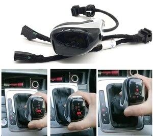 Image 1 - DSG AT светодиодный синхронизация электронный дисплей рукоятка для рычага переключения передач рычаг ручной мяч для гольфа 6 Jetta MK5 MK6 Tiguan Polo