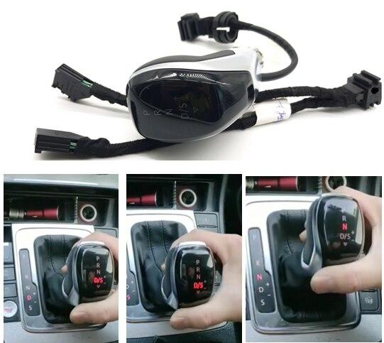DSG AT светодиодный синхронизация электронный дисплей рукоятка для рычага переключения передач рычаг ручной мяч для гольфа 6 Jetta MK5 MK6 Tiguan Polo