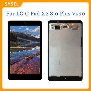Для LG G Pad X2 8,0 Plus V530 ЖК-дисплей кодирующий преобразователь сенсорного экрана в сборе Бесплатные инструменты