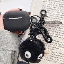 Черные брикеты силиконовый чехол для наушников чехол для ключей с держателем для пальцев аксессуары защитный чехол s Bluetooth