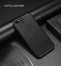 아이폰 7 7 플러스 소 가죽 케이스에 대 한 100% 원래 Duzhi 브랜드 정품 가죽 케이스 아이폰 7 8 Shockproof 가죽 케이스에 대 한