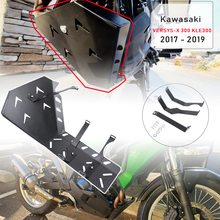 Versys x300 Accessories Skid Plate Frame Guard Protector Chassis Guard for kawasaki versys-x 300  versys x 300 2017 2018 2019 free shipping ed skid plate guard fit for yamaha xg250 tricker xt250x serow250