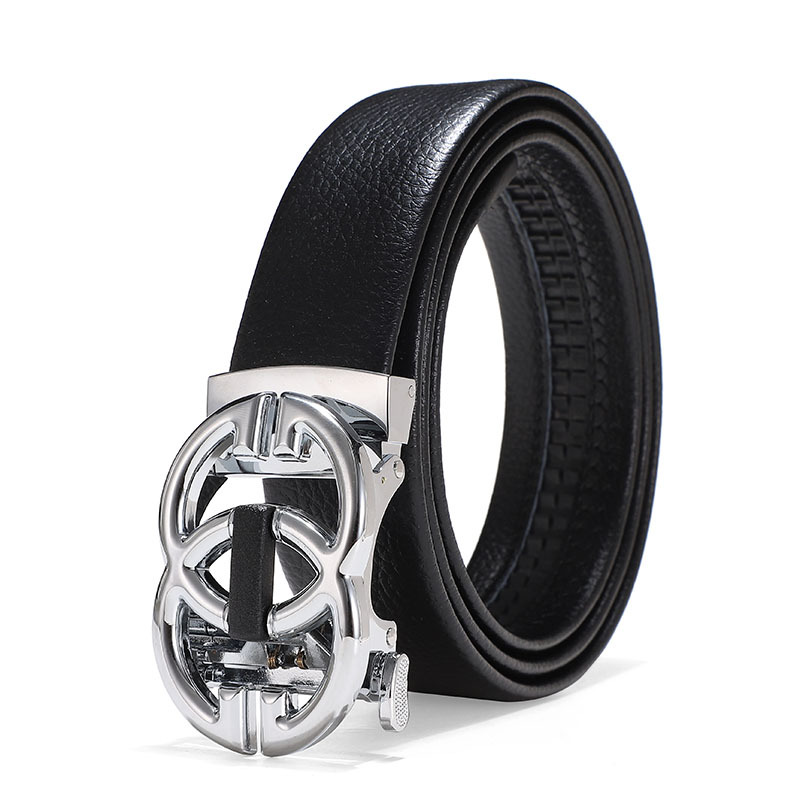 2021 Automatic buckle head men's belt business leisure belt designer belts women high quality luxury gg belt brand.