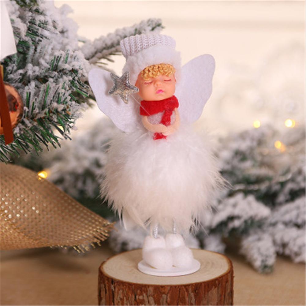 Guardian Angel Charms Pendentifs Arbre de Noël Décoration Décorations Mariage.,