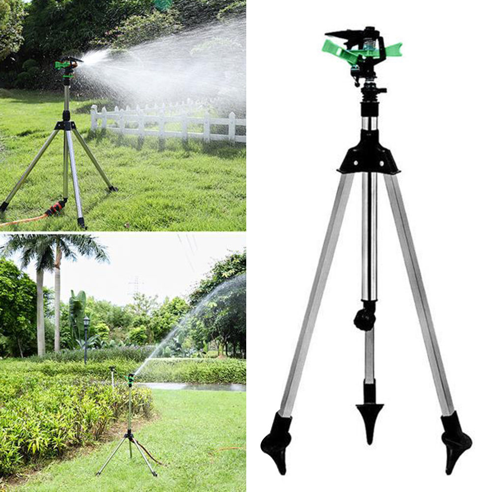 Einstellbare Wasser Bewässerung Sprinkler Sprayer Rasen Garten Beregnung Bewässerung Kits Teleskop Stativ Garten Sprinkler Bewässerung