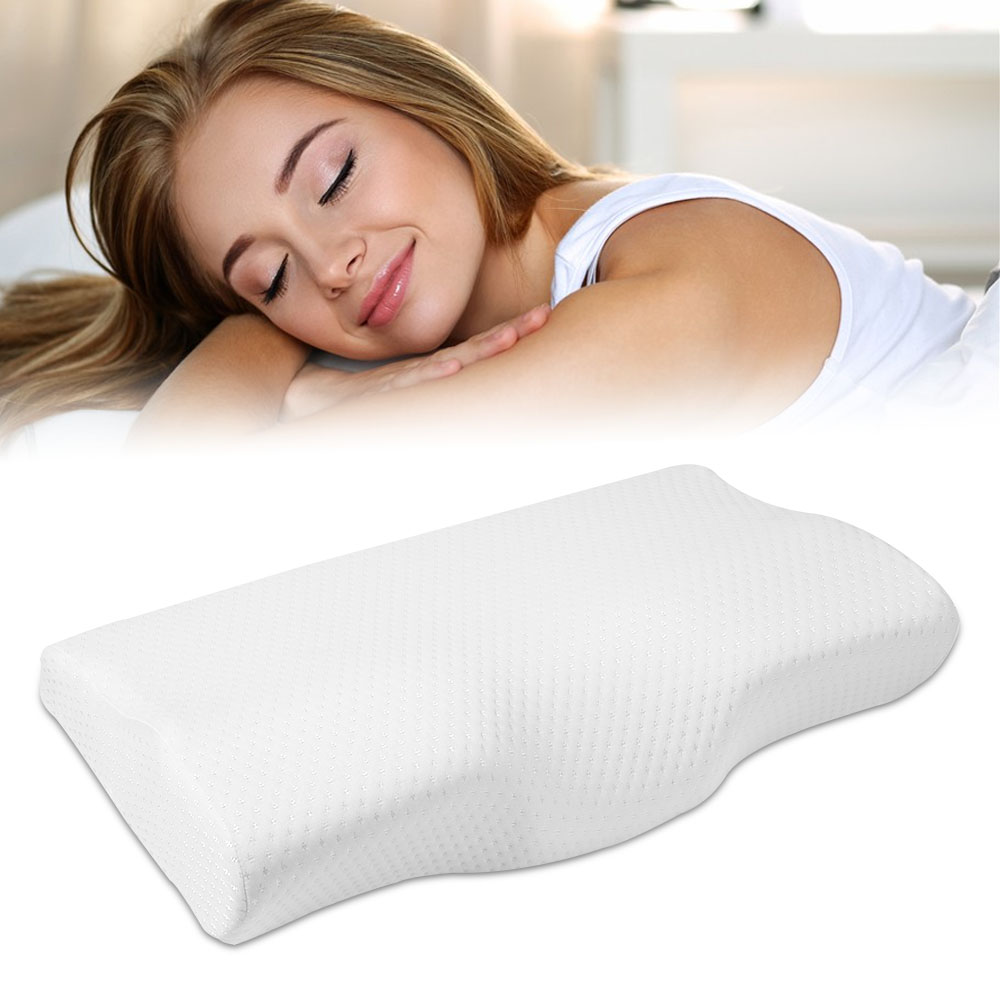 Tamanho cervical da saúde do descanso em forma de borboleta da espuma da memória da recuperação lenta da proteção do pescoço do descanso do fundamento da espuma da memória em 50*30 cmTravesseiros de corpo   -