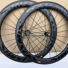 Carbon-Wheelset Bicycle Road-Bike Clincher Twill Depth 3K 60mm 25mm-Width Weave BOB