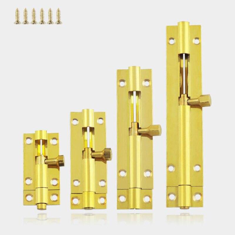 "UK 3//4//5//6//8/"" Long Silver Stainless Steel Door Latch Lock Bolt Gate Safety Lock"
