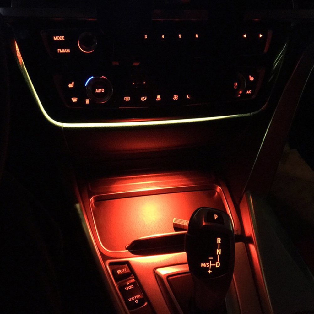 Ambient Light For F30 F32 BMW 3 Series Lighting Interior Ashtray Atmosphere Decorative Lamp Styling Central Control Armrest Box