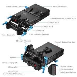 Image 5 - Fotga DP500III 2で1 vマウントバッテリープレートアダプタ充電器15ミリメートルキヤノンニコンソニー用カメラビデオスタジオ撮影