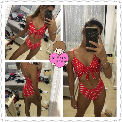Сексуальный сдельный купальник, женский летний модный пляжный бикини, черный, красный, купальник, набор для девушек, Цельный купальник для отдыха, купальник для бассейна